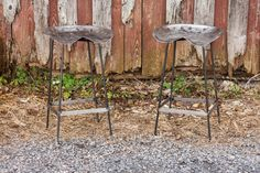 FREE SHIPPING Outdoor Patio Vintage Tractor Seat Bar Stools