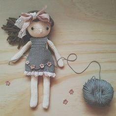 Beautiful crochet doll