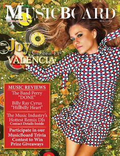 Check Out Joy Valencia's Music EP. Music reviews on The Band Perry, Billy Ray Cyrus. The Hottest DJs in the music industry plus details on our Cash Giveaway.