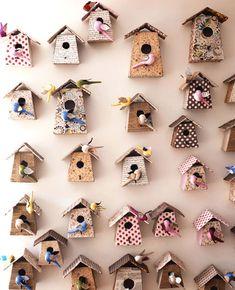tra orto e giardino: casette per uccelli