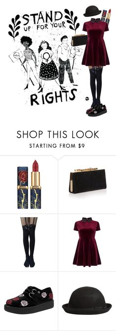 """tumblr girl"" by maxljn ❤ liked on Polyvore featuring Jimmy Choo, Miss Selfridge and Boohoo"
