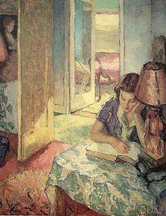 Mischa Askenazy (1888-1961) ~ Dorothy Reading