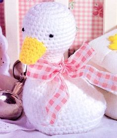 Cuddle Duck (Too cute for words) ~ FREE PATTERN 12/14.