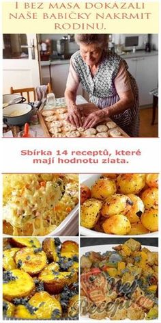 Vegetarian Recipes, Cooking Recipes, Healthy Recipes, Eastern European Recipes, Food Porn, Homemade Pastries, Czech Recipes, No Salt Recipes, Avocado Recipes