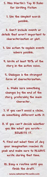 Writing Tips | Tumblr