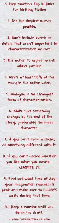 Writing Tips | Tumblr