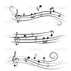 Various sheet music musical notes. Free art print of Sheet music musical notes. Sheet Music Tattoo, Music Tattoos, Body Art Tattoos, Moon Tattoos, Badass Tattoos, Tatoos, Tattoo Noten, Music Notes Art, Art Music