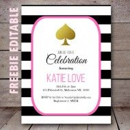 Birthday Dinner Party Invitations Free Printable Ideas For 2019 Kate Spade Party, Kate Spade Bridal, Birthday Dinner Invitation, Bridal Party Invitations, Invitation Ideas, Invites, Simple Bridal Shower, Bridal Shower Rustic, Veronica Gonzalez