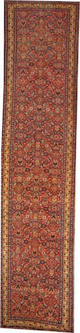 Bidjar runner size approximately 3ft. 11in. x 17ft. 4in.