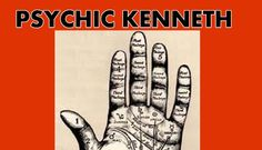 Palm Psychic Readings with Psychic Healer Kenneth