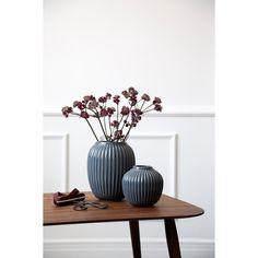 Kähler, hammershøi vase 20cm antrasitt Elegant, Hans Christian, Salvador, Interior, Design, Home Decor, Vase Of Flowers, Painters, Templates
