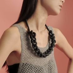 Rubber Chain Necklace