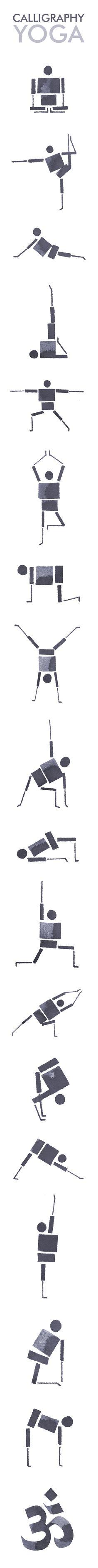 Calligraphy Yoga on Behance