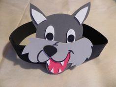 Mascaras de lobos en goma eva - Imagui