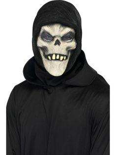 Grim Reaper Full Overhead Mask : Get It On Fancy Dress Superstore, Fancy Dress & Accessories For The Whole Family.http://www.getiton-fancydress.co.uk/seasonal/halloweenhorror/halloweenaccessories/halloweenmasks/grimreaperfulloverheadmask#.UuoDuvsry10