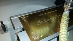 Dynamic Engraving can assist you in designing and engraving or cutting your products based on your unique requirements.