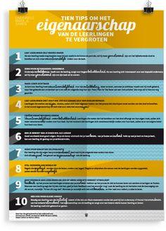 Tien tips om het eigenaarschap van de leerlingen te vergroten.