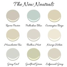 Maybe Palladian blue for living room  New neutral paint colors by Benjamin  Moore  New neutral Benjamin Moore paint Full home color scheme   calming colors are so popular right now  . Great Neutral Paint Colors Benjamin Moore. Home Design Ideas