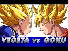 Cómo dibujar a VEGETA vs GOKU   Dragon Ball   How to draw