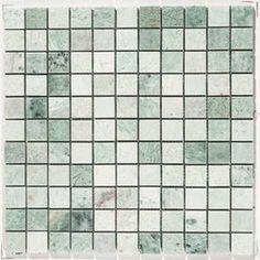 Mint Marble Mosaic Tile - Subway Tile Outlet