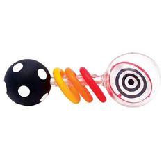 Sassy Spin Shine Rattle Developmental Toy $2.00