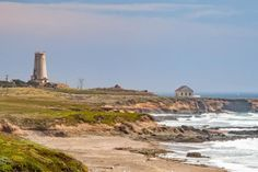 Gorgeous, lonely, stunning... You have to see these California lighthouse pictures: Piedras Blancas Lighthouse