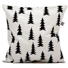 Fine Little Day monochrome Gran cushion for baby nursery kids room decor