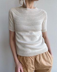 Sunday Sweater – PetiteKnit Knitting Patterns Free, Free Knitting, Knitting Ideas, Love Crochet, Knit Crochet, Knit Vest Pattern, Summer Knitting, Holiday Sweater, Stockinette
