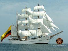 Buque escuela BAE Guayas de la Armada del Ecuador / Ecuadorian Navy sail training barque Guayas