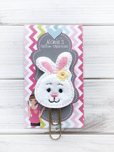 A personal favorite from my Etsy shop https://www.etsy.com/listing/503815478/bunny-paper-clip-planner-accessories