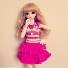 New Girl ^_^ #chloe #mnf #minifee #msd #bjd #kawaii #fairyland #slimbjd #doll