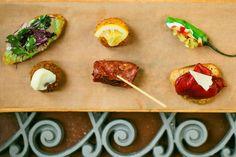 Pinxto platter from Cafe Ba Ba Reeba #Restaurant #Chicago #tapas