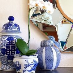 The finds: these incredibly detailed porcelain vases. Source: Instagram user cassiesugarplum