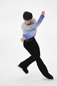 Yuzuru Hanyu of Japan competes in the Men's Short Program during the 83rd All Japan Figure Skating Championships at Big Hat on December 26 2014 in...