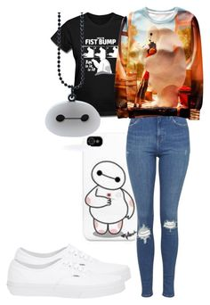 """""""Big hero six/ BAEmax"""" by crybabiez on Polyvore featuring Topshop and Vans"""