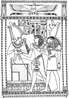 Ancient egypt coloring pages - coloringtop.com                                                                                                                                                                                 More