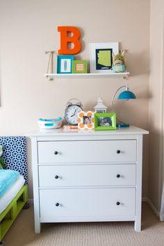 Shared Boys Room using toddler mattresses. Baby Room Diy, Baby Boy Rooms, Diy Baby, Shared Boys Rooms, Boys Room Decor, Playroom Decor, Playroom Ideas, Nursery Ideas, Nursery Decor