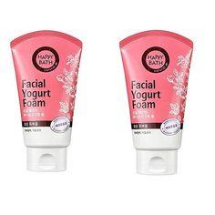 Happy Bath Facial Yogurt Foam