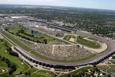 Indianapolis Motor Speedway, aerial view