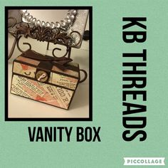 A personal favorite from my Etsy shop https://www.etsy.com/listing/464933304/vanity-jewelry-box-by-kb-threads