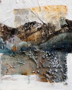 Mixed Media Canvas, Mixed Media Collage, Texture Art, Texture Painting, Painting Collage, Collage Art, Abstract Format, Abstract Pictures, Organic Art