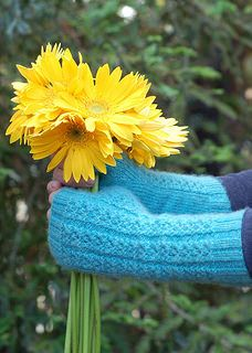 Kenmare Lace Fingerless Gloves by Irish Girlie Knits