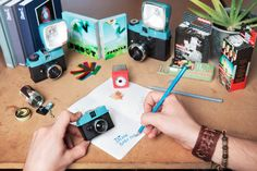 The Diana Baby - our new Baby in the 110 Cameras Family is so tiny, it can fit in your pocket! #Lomography