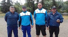 Championnat de Ligue Languedoc-Roussillon triplette du 3 au 5 Juin