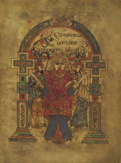 The Betrayal and Arrest of Jesus from The Book of Kells, c.800AD