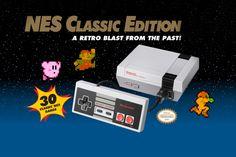 30 ans apres, la NES est de retour!!! Le fabricant japonais va relancer sa console emblématique des années 80. Une trentaine de jeux y seront intégrés. <3 <3 <3