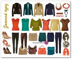 Máte plný šatník oblečenia a predsa si nemáte čo obliecť? Kúpili ste si skvelú novú sukňu a doteraz ste ju nemali na sebe, pretože ju nemáte s čím nosiť? Dôvodom bude zrejme to, že oblečenie vo vašom šatníku spolu neladí.… Soft Autumn Deep, Warm Autumn, Capsule Outfits, Fall Capsule Wardrobe, Night Outfits, Fall Outfits, Core Wardrobe, Fall Color Palette, Autumn Clothes
