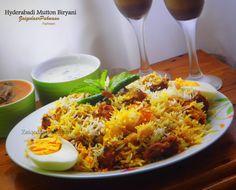 Hyderabadi Mutton Biryani  www.facebook.com/zaiqedaarpakwaan