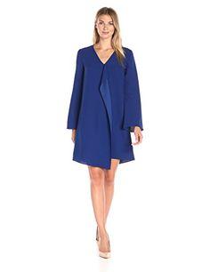 Lark & Ro Women's Cascade Ruffle Shift Dress - http://www.darrenblogs.com/2017/01/lark-ro-womens-cascade-ruffle-shift-dress/