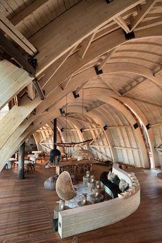 ideas seafood restaurante interior design spaces for 2019 Architecture Design, Amazing Architecture, Architecture Office, Design Hotel, Home Interior Design, Interior And Exterior, Interior Inspiration, Interior Ideas, Simple Interior